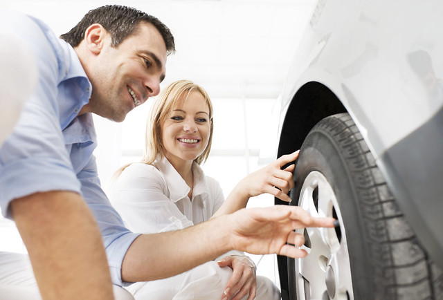 Make sure to check your tires to ensure your safety on the road