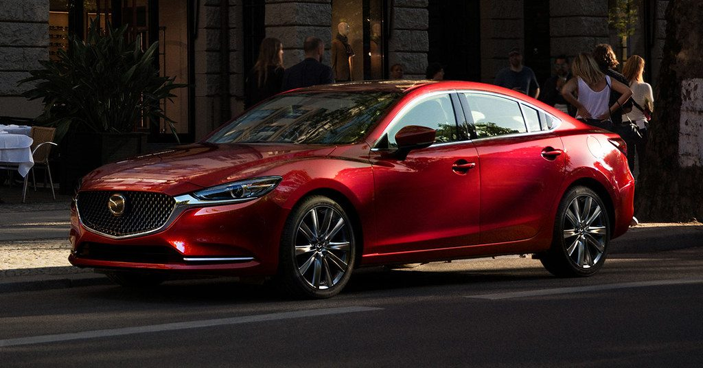 Child safety in the Mazda6 got a top IIHS safety rating in 2019